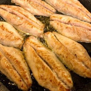サバのオリーブオイル焼き