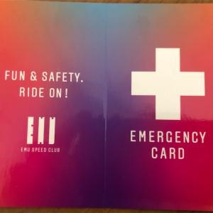 【完成】EMUエマージェンシーカードを配布します
