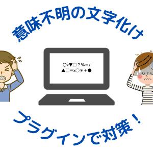 WP Multibyte Patch日本語文字化け対策プラグインは必須!