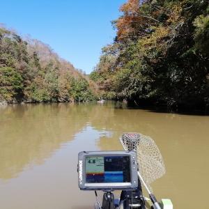 亀山ダムでバス釣り