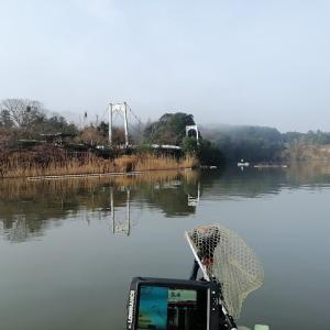 亀山ダムでバス釣り修行 HDS7設定