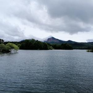 桧原湖遠征2日目 2020/  7/18 釣果15本 Max40cm