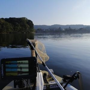 亀山ダム 2020/ 9/22 釣果約10本 Max39cm