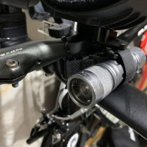TTバイクへの前後ライトの取り付けについて