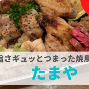 【テイクアウト】『たまや』焼き鳥の色んな美味しさがギュっとつまった絶品弁当!