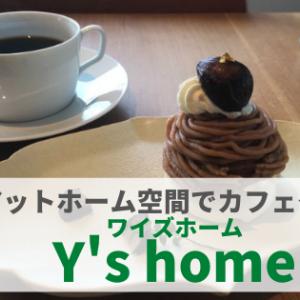 【金沢カフェ】『Y's home(ワイズホーム)』癒し空間で食べるとっておきスイーツ