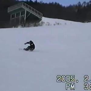 基本を大切にの精神(昔撮ったスノーボードとスキーの映像をアップ)