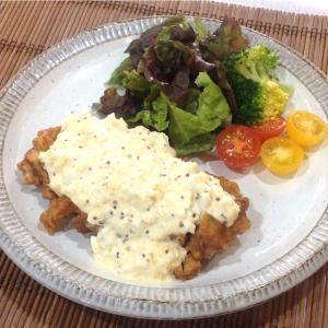 【レシピ】チキン南蛮 ハニーマスタードタルタルソース