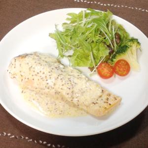 【レシピ】濃厚ソースがクセになる! 鮭のムニエル 粒マスタードソース