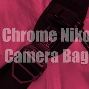 自転車乗り御用達!都会派スリングタイプカメラバッグ『Chrome Niko』