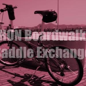 ミニベロ小径自転車DAHON Boardwalk D7のサドルをVELO SPORTS SL-VL-013へ交換