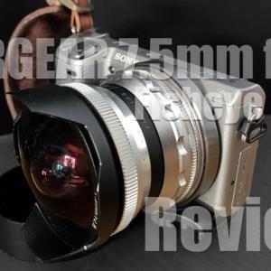 超広角単焦点レンズ「PERGEAR 7.5mm f2.8」をレビュー!お遊びだけじゃない!魚眼レンズの使いどころ【PR】