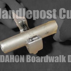 DAHON Boardwalk D7 2004年モデルのハンドルポストを切断!高さを低く下げる調整ができるようにしてみた