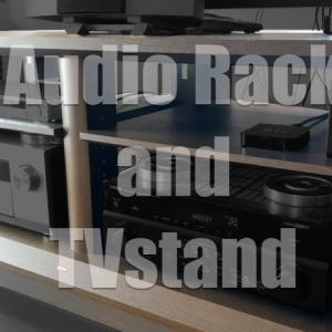 オーディオラックを導入!音質の変化とフロントスピーカーvsテレビ受光部対策