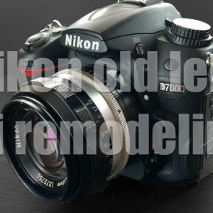 非AiのニコンオールドレンズをAi対応に改造する方法!Nikkor Auto SC 50mm f1.4をAi化