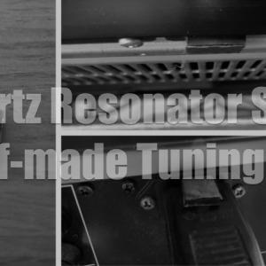 アコースティックリバイブのクオーツレゾネーター風チューニングチップの自作方法