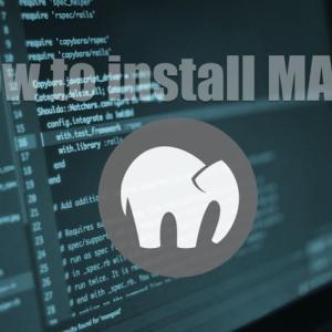 MAMPをインストールしてローカル環境にWebサーバやデータベースサーバを構築する方法