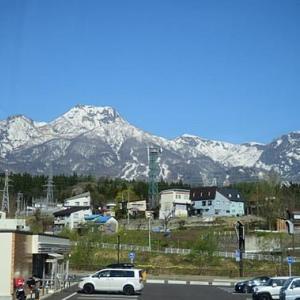 絶景の飯縄山
