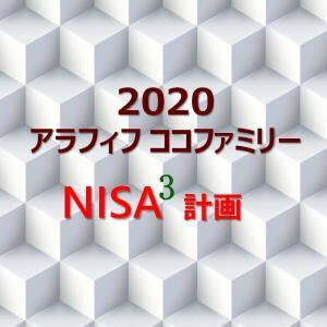 2020年度ココファミリーのNISAキュービック計画