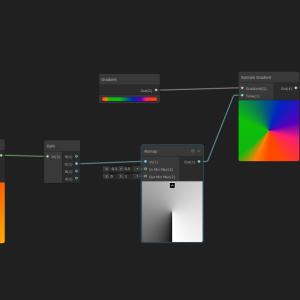 【Unity】ShaderGraphで円形グラデーションを作る