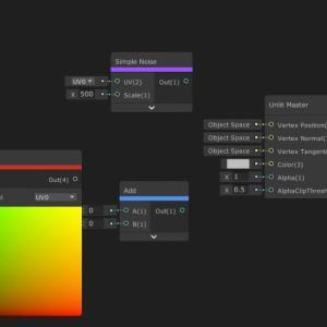 【Unity】ShaderGraphでノードに色を付けて見やすくする