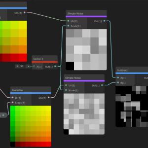 【Unity】ShaderGraphでSFにありそうなノイズを作成する