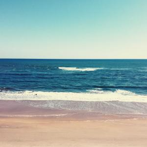 ドローンもって海