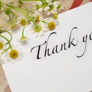 あなたが結婚する為にやるべき事!➅感謝の言葉を伝えよう!!