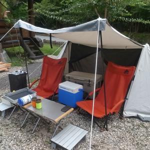 そして庭先ディキャンプ
