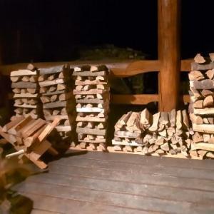 東吉野ログ生活192日目・薪の消費がハンパないです