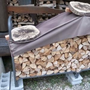 小割りの薪が必要なことを実感しました