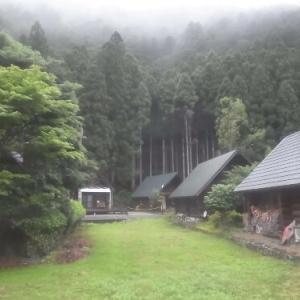 東吉野ログ生活262日目・やっぱり梅雨なんですね。。。