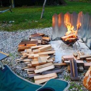 燻製とポトフと焚火三昧