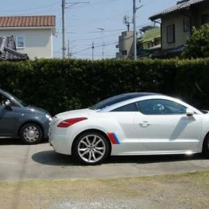 車の日光浴と言えば・・・。