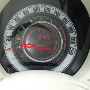 キリ番Get!!!!(FIAT500)
