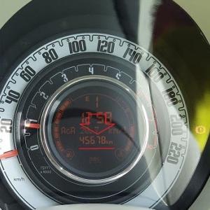 FIAT500 ODDメーター 45,678km