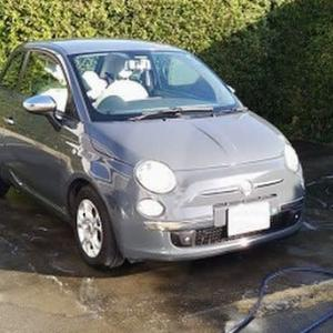 FIAT500洗車したら・・・。トラブル発生。