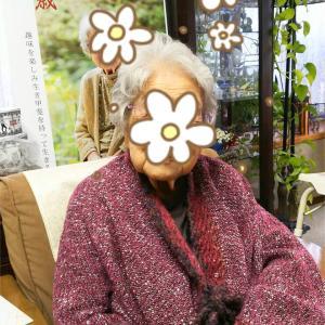 100歳のお客様の着画をいただきました。