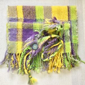 明日は オンライン講座中級アドバンス スタートです。織り糸キットも作りました。