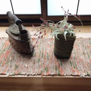 手縫いと縁編みで仕立てる裂き織り小物のレシピを制作