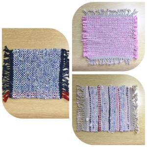 裂織りコースlesson①は「咲きおり」機の使い方と 布のカット方法ABC