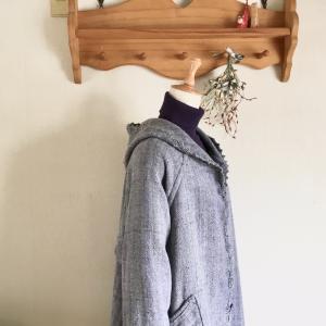 販売会「手織り服で冬支度」は11月5日(木)~18日(水)ながの東急百貨店3階です。