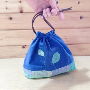 ハメハメ巾着の制作キットも作りましたよ〜。