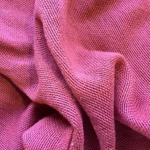 ローズレッド改めルビーレッド。良い織色です。