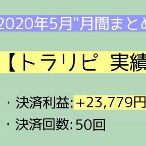 【月間報告】トラリピ 5月運用実績報告【2020年】