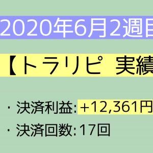 2020年6月2週目(7~13) 【トラリピ実績】