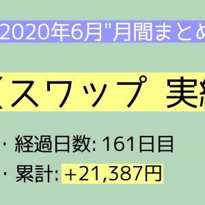 【月間報告】スワップ 6月運用実績報告【2020年】