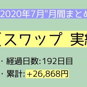 【月間報告】スワップ 7月運用実績報告【2020年】