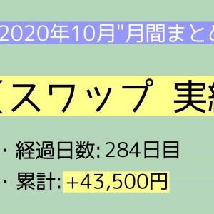 【月間報告】スワップ 10月運用実績報告【2020年】