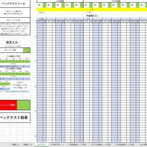 【失敗】Excelでバックテストツールを作る!